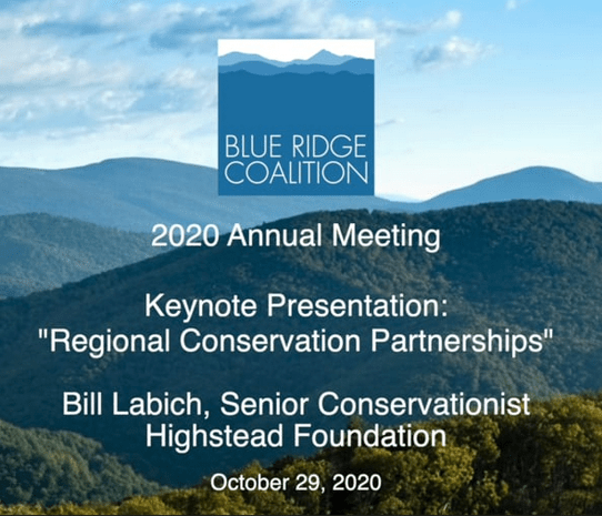 Webinar: Regional Conservation Partnerships