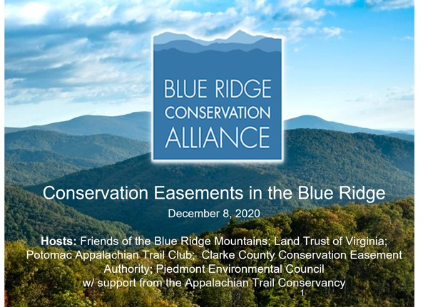 Webinar: Introduction to Conservation Easements